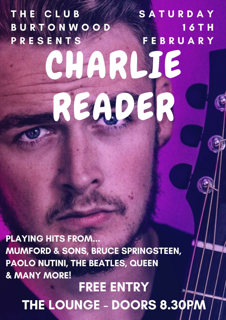 Live In The Lounge: Charlie Reader