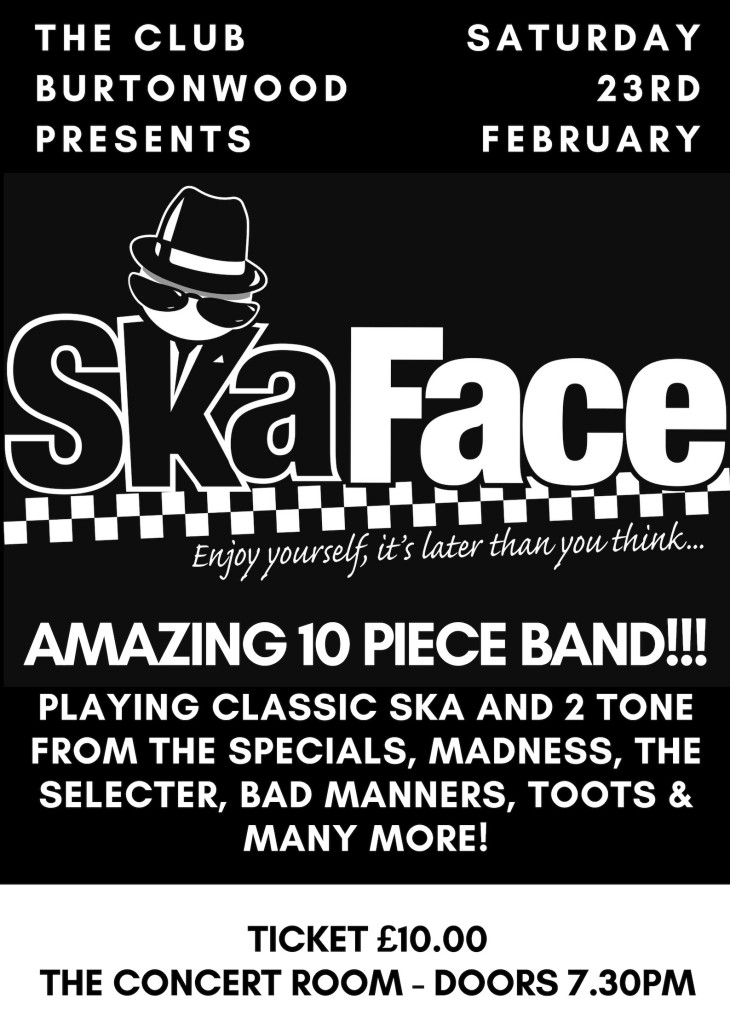 The Club Presents: Ska Face