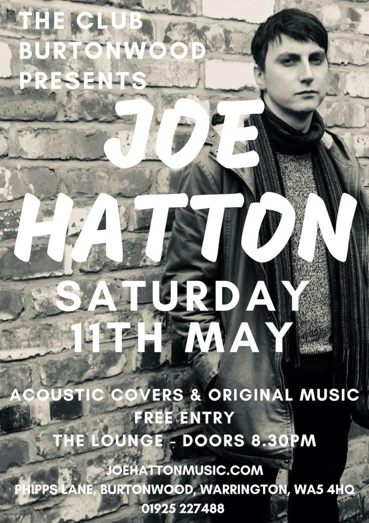 Live In The Lounge: Joe Hatton