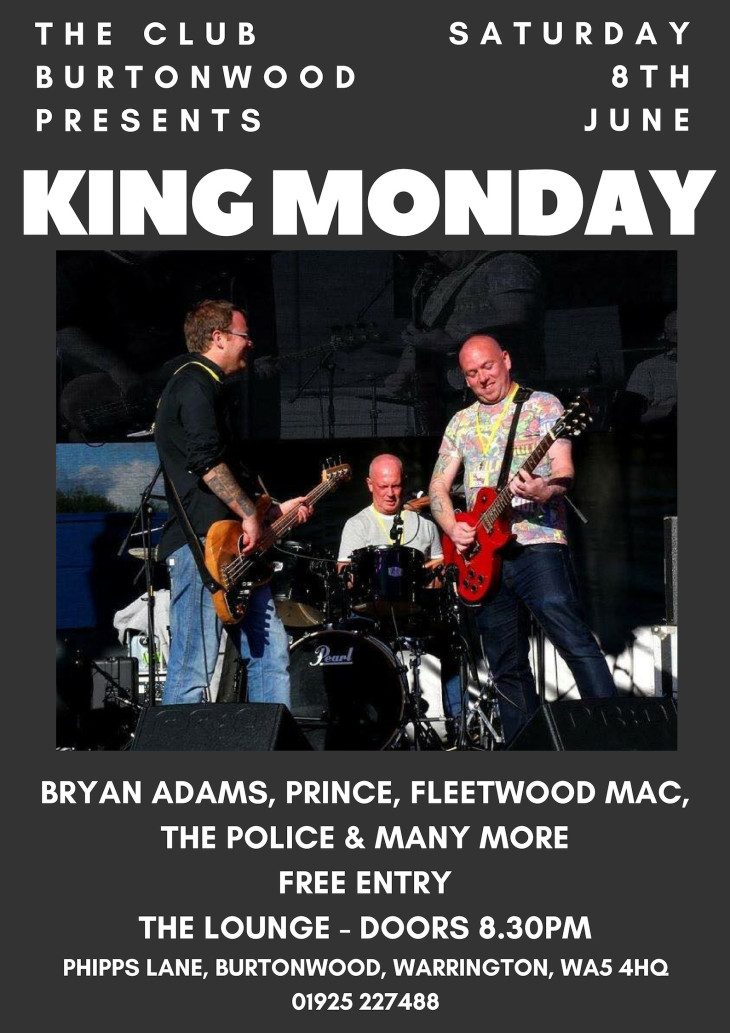 Live In The Lounge: King Monday