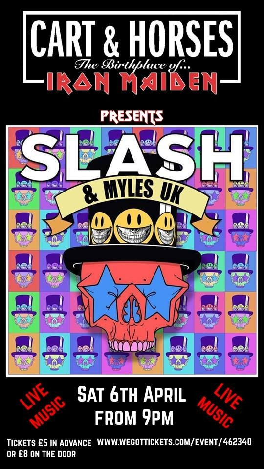 SLASH & MYLES UK (SLASH tribute)