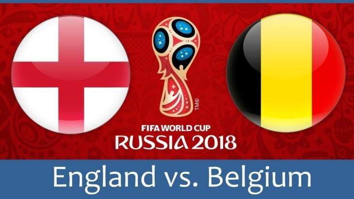 World Cup England v Belgium