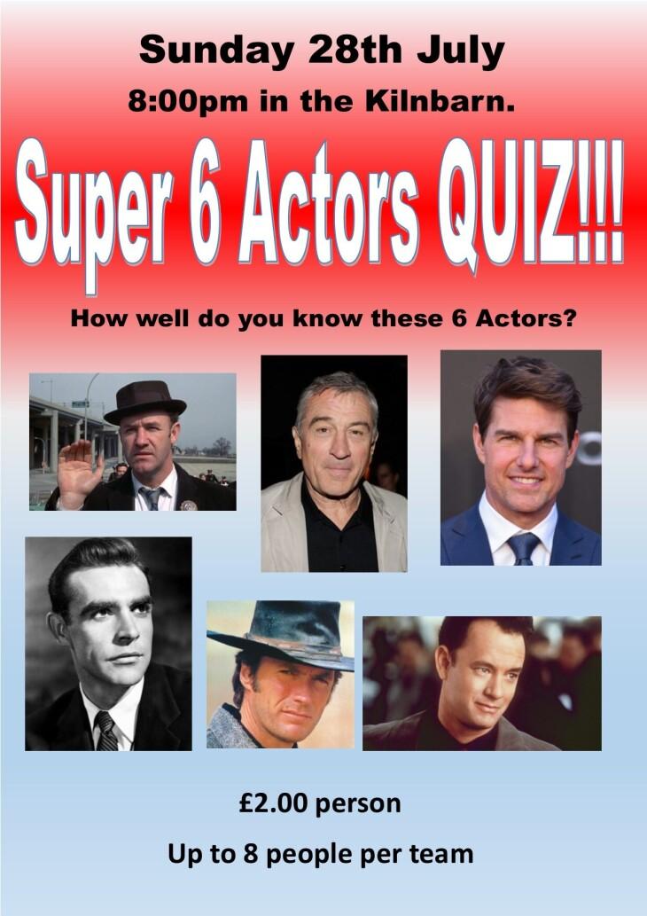 Sunday Quiz