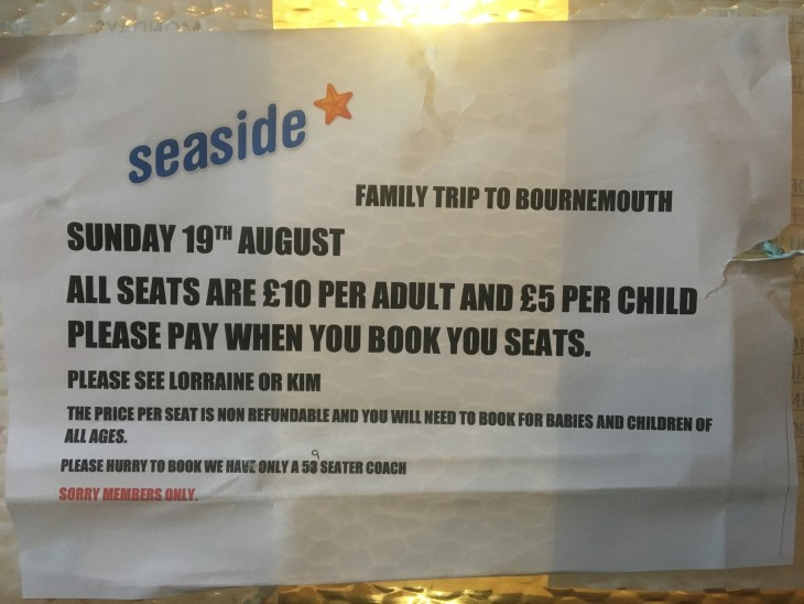 Bournemouth Family Seaside Trip