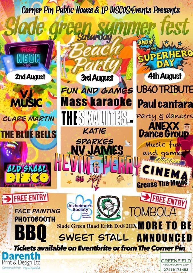 Slade Green Summer Fest!