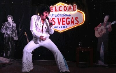 Alvin as Elvis (back by popular demand