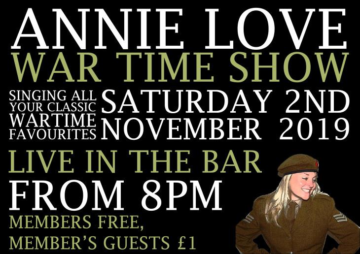 Annie Love War Time Show