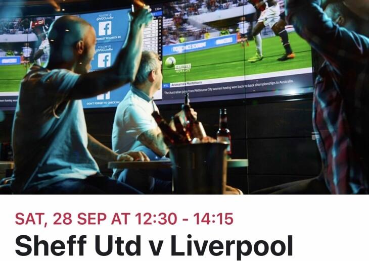 Sheffield Utd v Liverpool