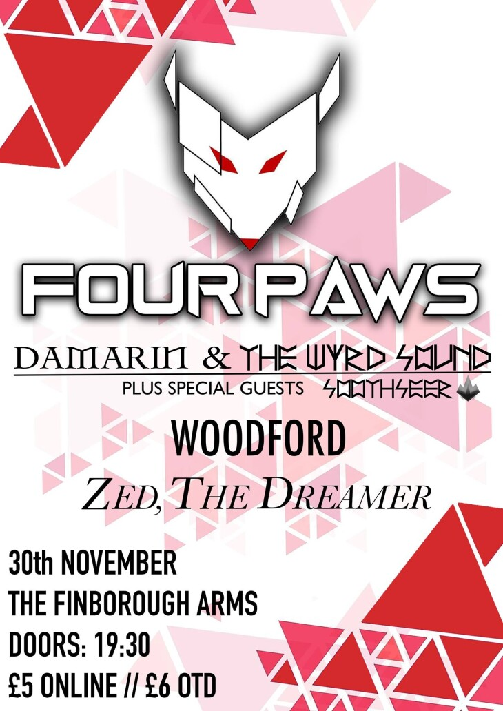 Four Paws, Damarin w/Soothseer, Woodfo
