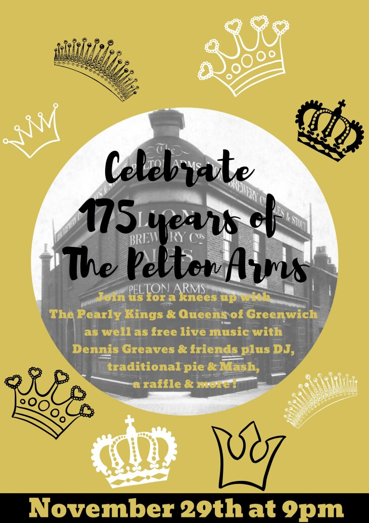 175th Anniversary of The Pelton Arms