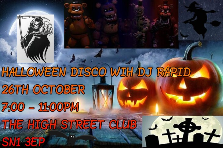 Halloween Fancy Dress Disco & Karaoke