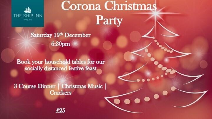 Corona Christmas Party