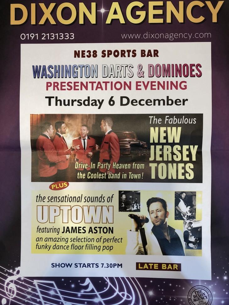Jersey Tones & UPTOWN