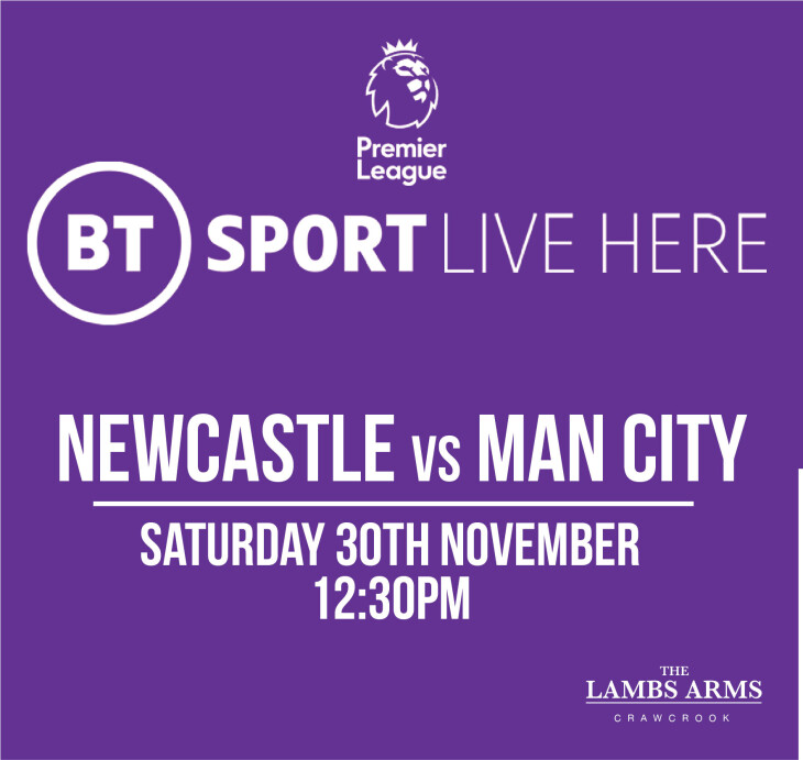 Newcastle V Man City