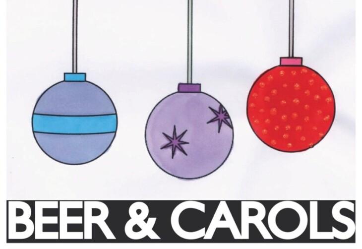 Beer & Carols 6.30pm