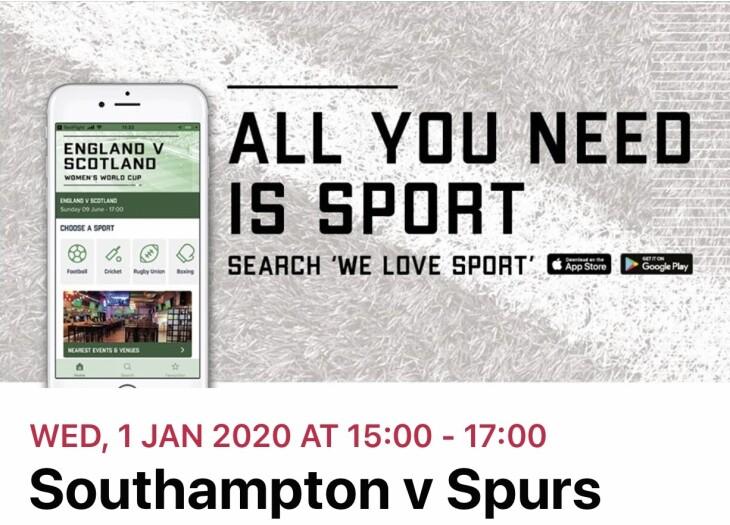 Southampton v Spurs