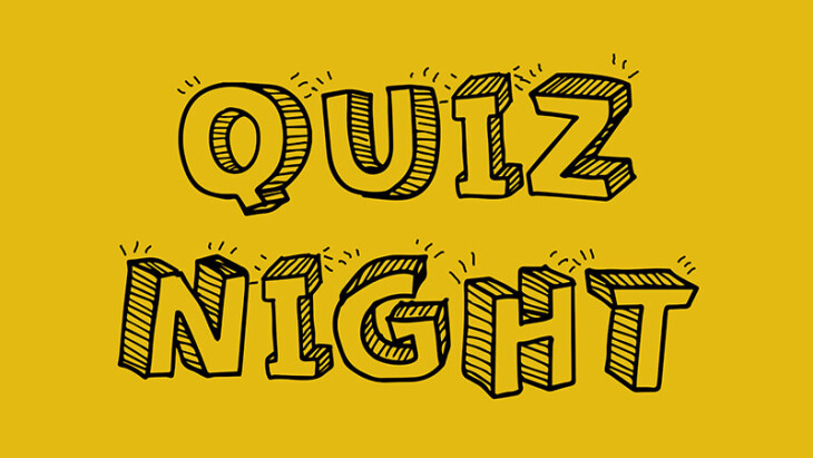 Quiz Night is CANCELLED THIS MONTH