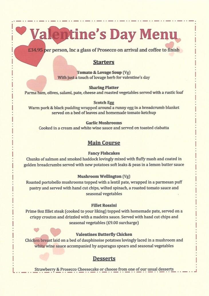 Valentines Day 14th Feb
