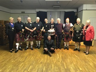 Black Watch London Pipes and Drums