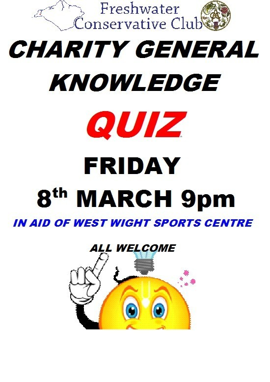 Charity General Knowledge Quiz