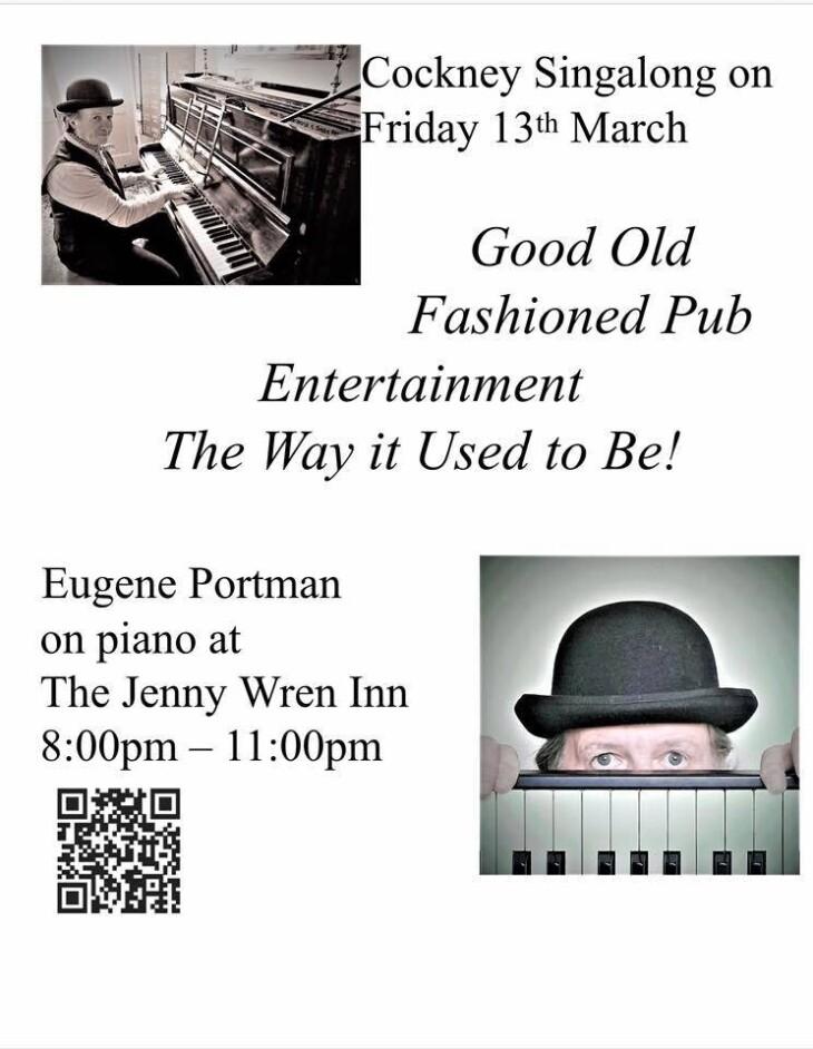 Eugene Portman on Piano
