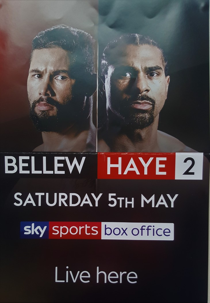 Bellew vs Hayes Live Boxing