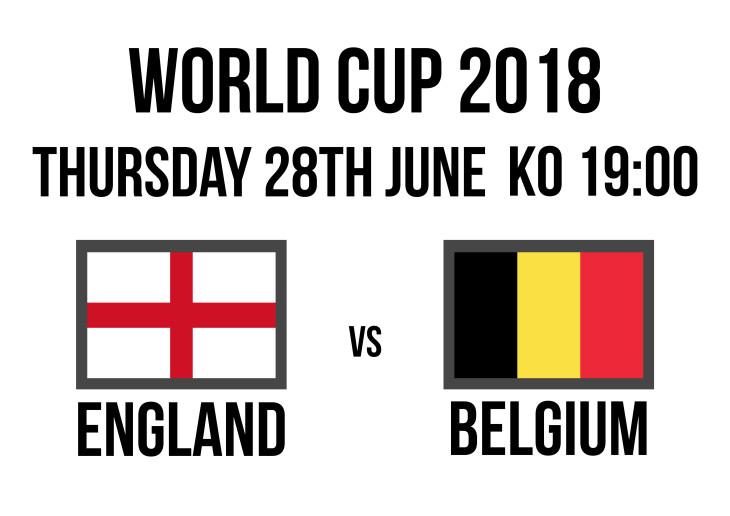 England 19:00 Belgium