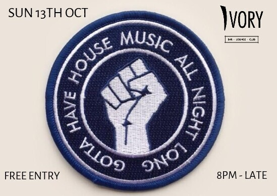 House Music All Night Long at Ivory