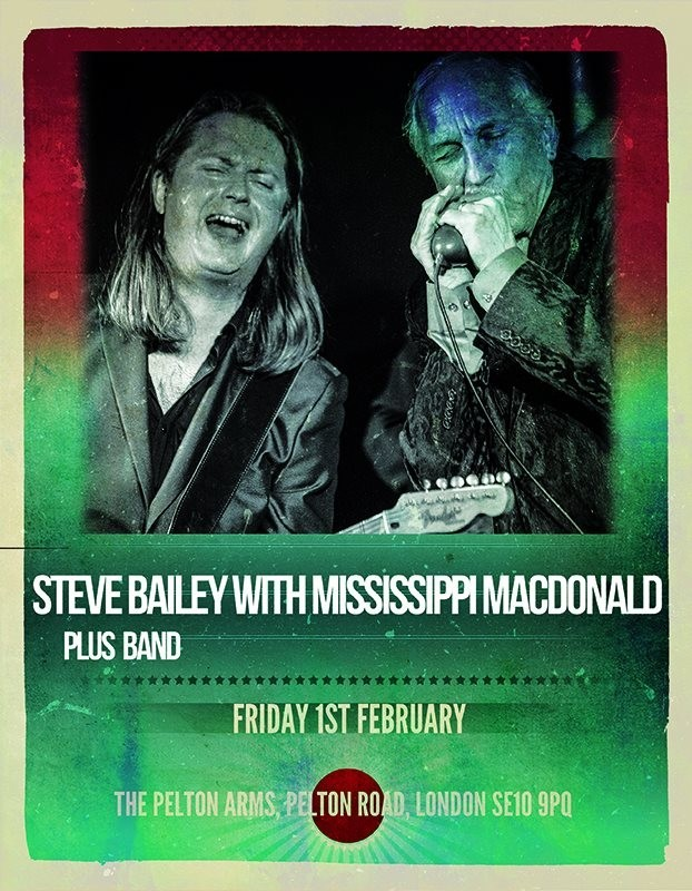 Steve Bailey and Mississippi MacDonald