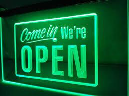 We Re-open