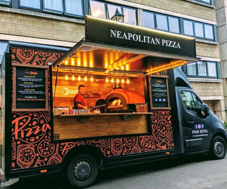 Sole Luna Pizza Van