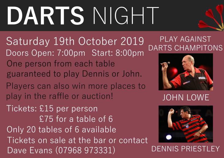Darts - John Lowe & Dennis Priestley