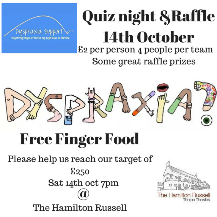 Dyspraxia Charity Event