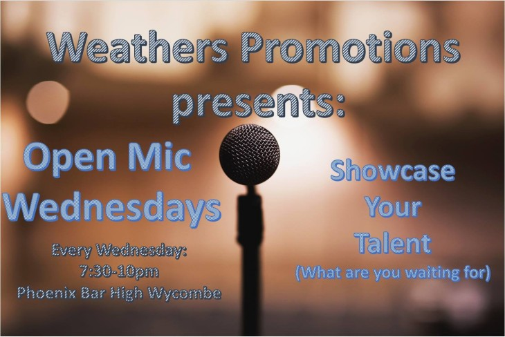 Weathers Promotion presents: Open Mic
