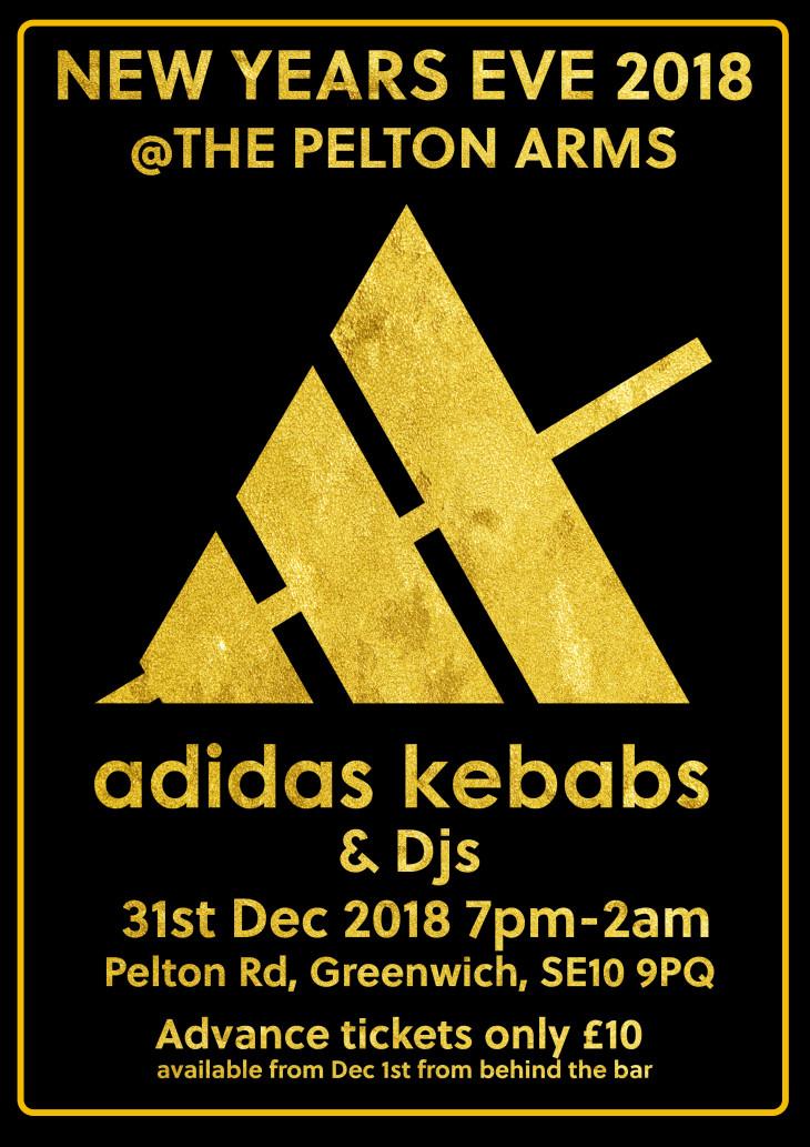 Adidas Kebabs.