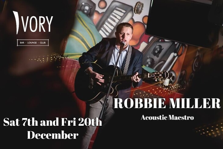 Robbie Miller live at Ivory...