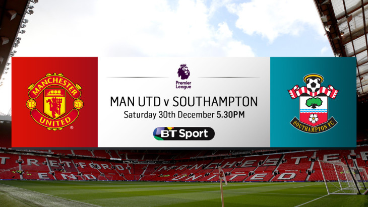 Man united V Southampton
