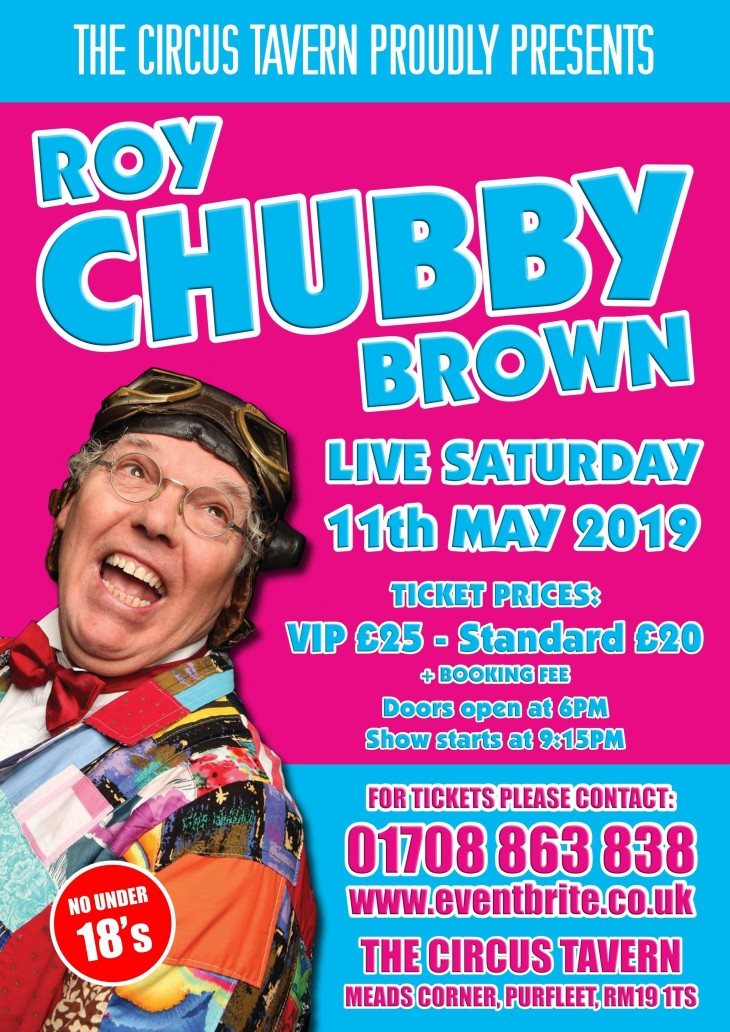 Are mistaken. roy chubby brown among join