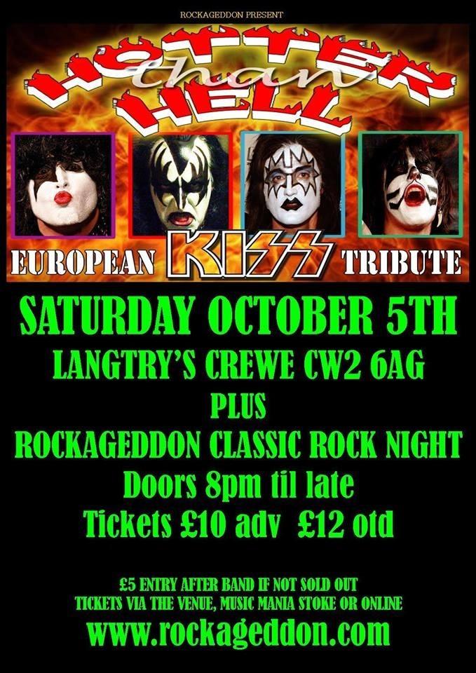 Rockageddon Rock Night & KISS