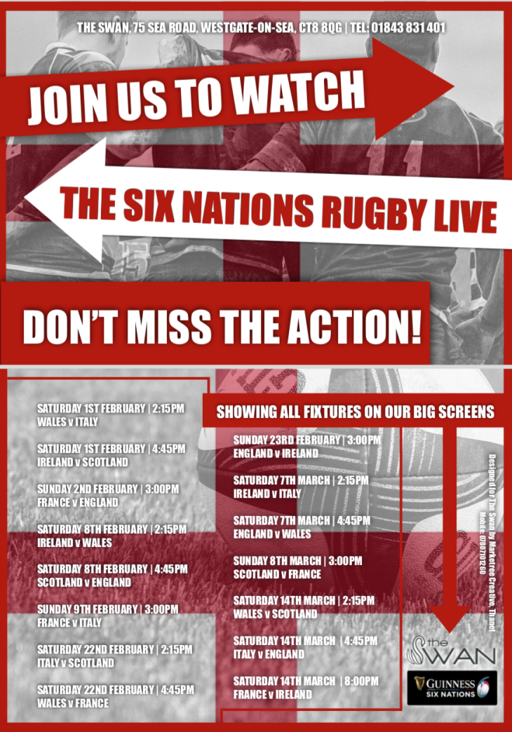 Watch the Guinness Six Nations Live!