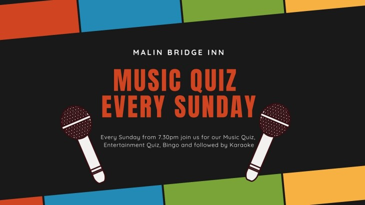 Sunday Music & Entertainment Quiz