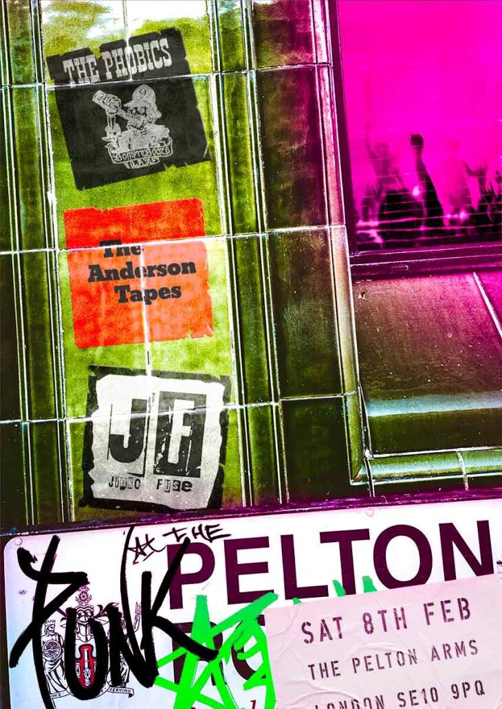 Punk at The Pelton.