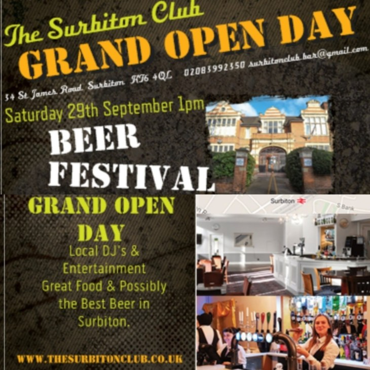 GRAND OPEN DAY BEER FESTIVAL
