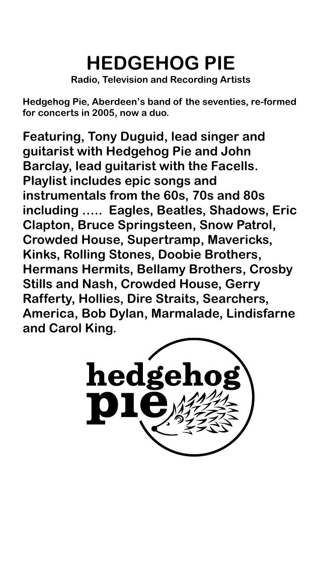Hedgehog Pie