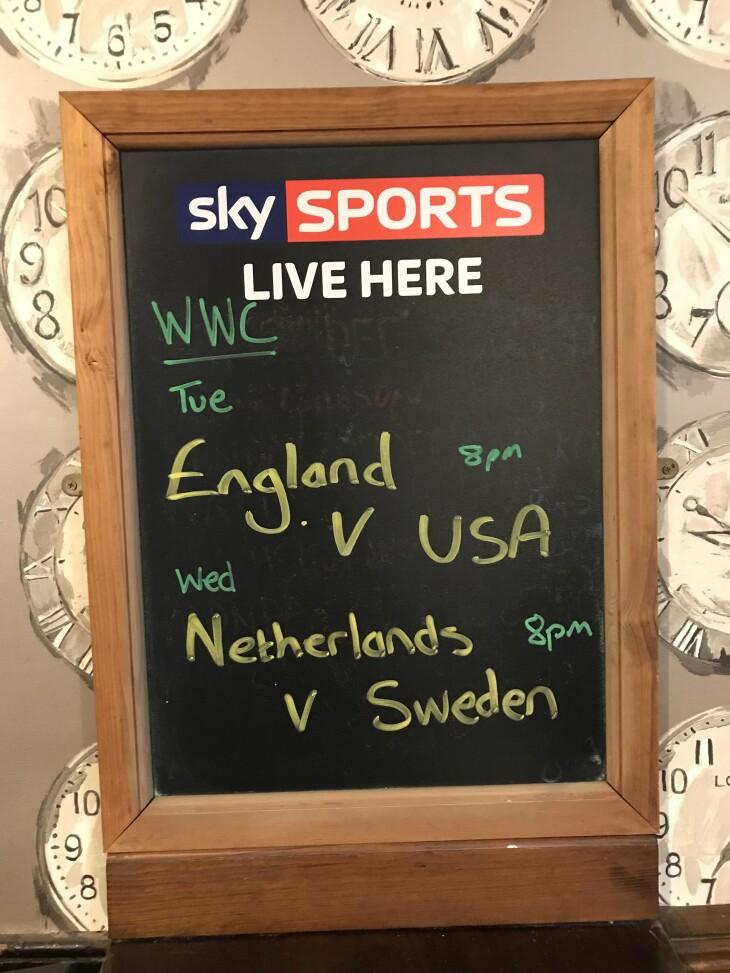 England Women v USA women