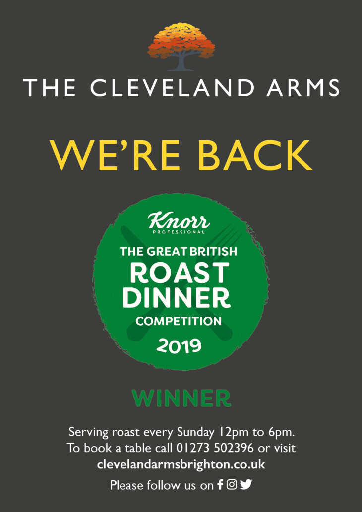 Sunday lunch is back!!