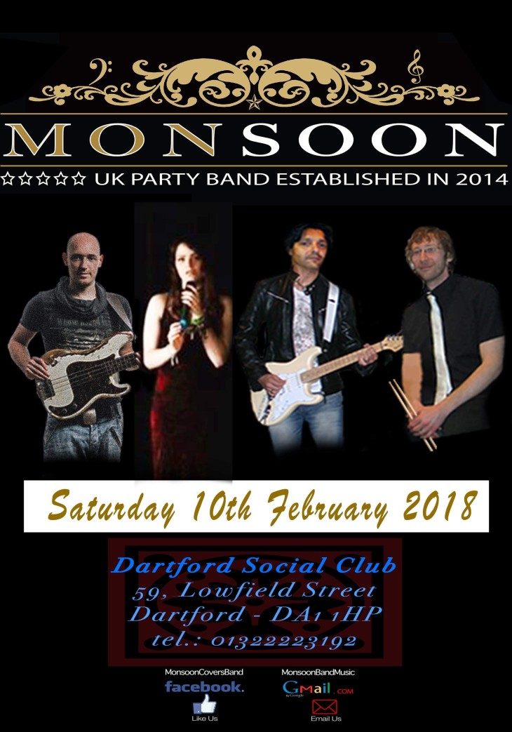 Monsoon Band Debut at DSC.