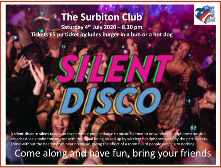 4th July Silent Disco