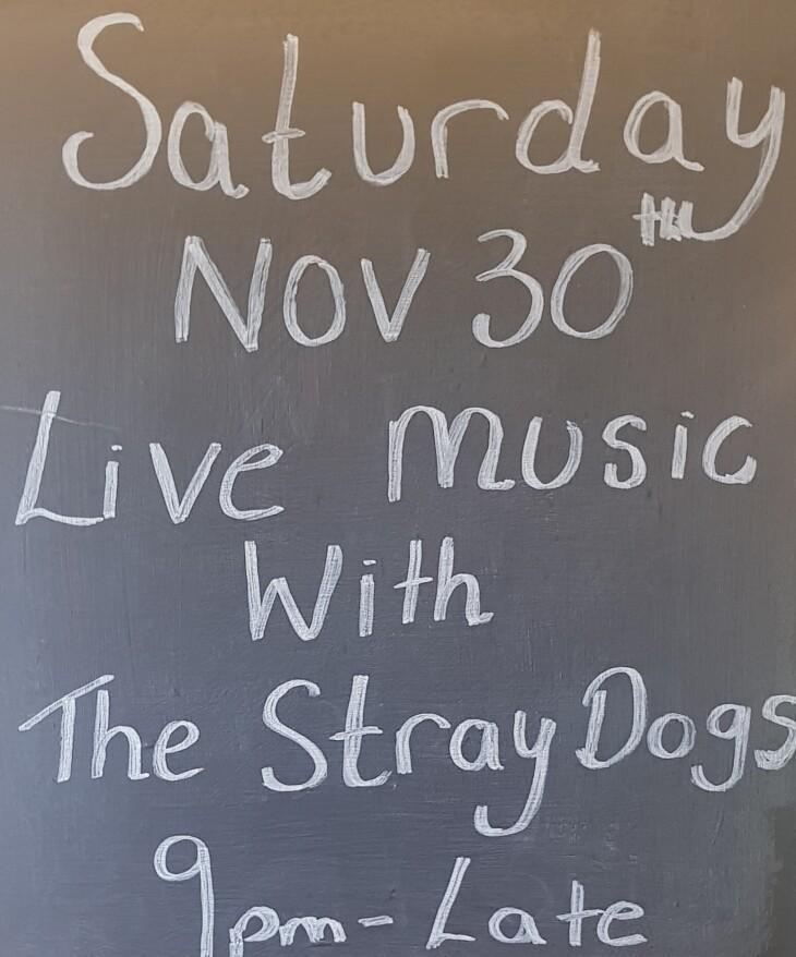 Live Music Saturday November 30th
