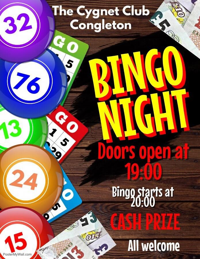 Wednesday night bingo near me
